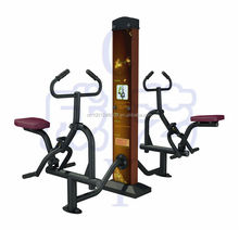 outdoor fitness equipment riding trainer(double-unit)