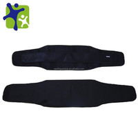 Neoprene Sport Back Support Adjustable velcro waist trimmer belt
