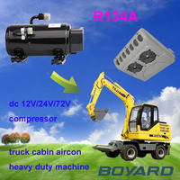 solar air conditioner parts R134A solar powered refrigeration compressors for solar energy system