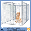 Galvanized steel dog cage& iron fence dog kennel& large steel dog cage