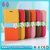 Hot Sale wallet retro book purse leather case for samsung galaxy note 3