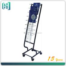 display magazine rack /newspaper magazine rack /magazine rack floor HSX-S280