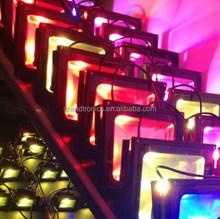 IP65 waterproof RGB colorful changing 100w flood led light