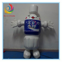 High Quality Waterproof Inflatable Advertising Product,Inflatable Water Bottle