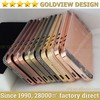 mirror finish for IPhone 5s 24ct gold housing ,for iphone 5 rose gold diamond housing