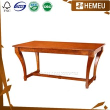 DT0903- Modern american dining room maple wood painted table and chairs