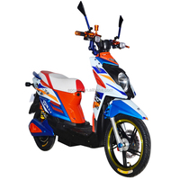 1500W new design electric scooter e-scooter electric motorcycle 72V20Ah battery 50km/h for HC-EM17 Striker1000W