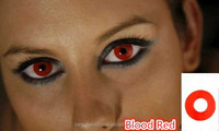 2014 Blood red crazy lens,Crazy Contact Lens,funky contacts