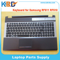 Original Notebook keyboard for Samsung RF510 RF511 keyboard with C shell TouchPad Palmrest