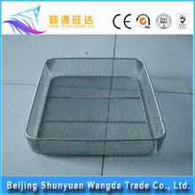 hot sale stainless steel kitchen cooking wire mesh basket