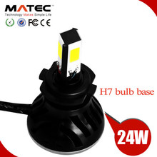 New arrival motor light 24w 2400lm H4 H6 H7 fz16 motorcycle headlight