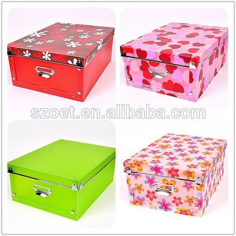Cajas de almacenamiento contenedores almacenamiento for Cajas de plastico plegables