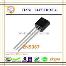 2015 hot sale stock price TO-92 PNP Bipolar Transistor 2N5087