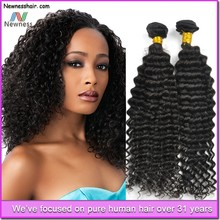 2015 fashion wholesale virgin cambodian hair natural black and blench blonde ombre color