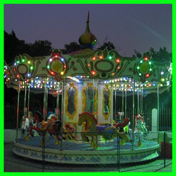 China professional factory carousel horse ride for amusement park