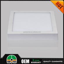 SMD2835 2015multicolor square led pannel light energency saving led ceiling light
