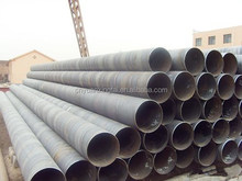 SSAW Spiral welded steel pipe for gas/fluid/oil /manufacturer supply