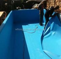 pvc waterproof membrane/ waterproof membrane for bathroom floors/ pool liner