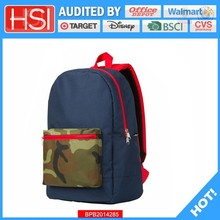 audited factory wholesale price plain preferential bag backpack