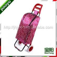 folding shoping cart reusable non woven bag cutting
