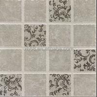 grey shiny floor tiles