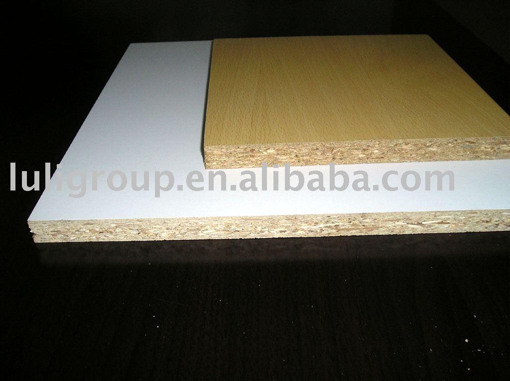 Melamine particle board chipboard veneer