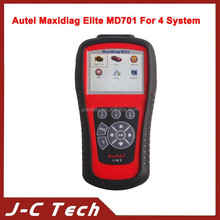 2015 Autel Maxidiag Elite MD701Code Scanner With Data Stream Function Asia Vehicles for 4 System Update Online