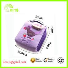 delicate colorful sanitary napkin storage bag