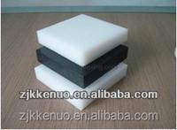 KENUO Plastic wear resistant black high density polyethylene uhmw sheet properties