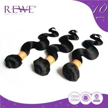 Excellent stylish oem colour wavy tangle free indian hair 6a remy wholesale