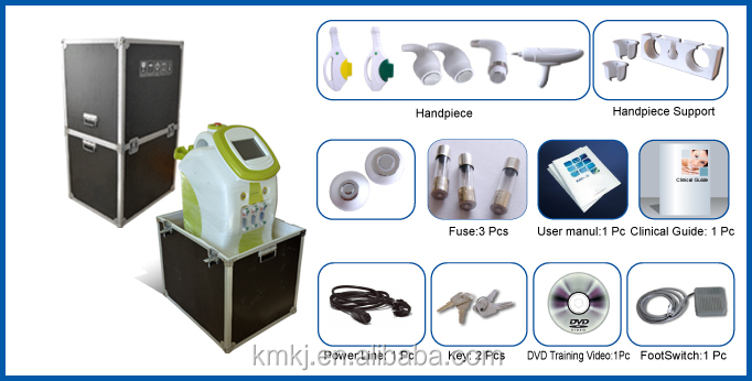 Hot selling 6 in 1 multifunction beauty machine with IPL+RF+elight+nd yag laser+cavitation