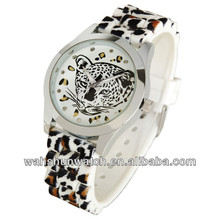 promotion gifts printing waterproof unique silicone geneva watch men
