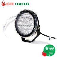 """New Release! 90W 7"""" Led Headlight, 4WD Truck, Tractor 7"""" Led Headlight"""