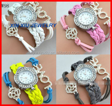 Handmade Leather wristband Watches Fashion