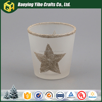 Fashional designed stage decoration for christmas hanging candle holder