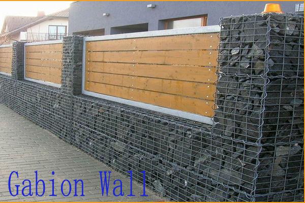 residentional fil mur panier am nagement paysager gabion mur fil de fer barbel id de produit. Black Bedroom Furniture Sets. Home Design Ideas
