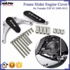 BJ-EG-003 CNC Engine Cover Protector Crash Pad Frame Slider for Yamaha YZF R1