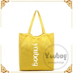 Color shopping cotton bag