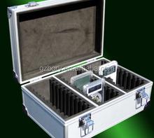 Heavy duty hard travel storage box crafting aluminium pad case