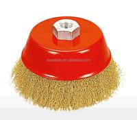 2015 abrasive grinding copper twist brush/polishing brush