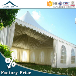 Beautiful decoration marquee high peak arab pagoda tent