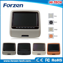 9 inch active headrest dvd player for bmw ,usb ,mp3, touch bottons