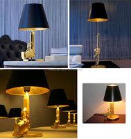 Starck ak47 gun table lamp/Brand New Classic Designer AK47 Gun Table Lamp Gold Or Chrome Finish