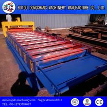 850 roofing tile corrugated roof sheet /roll forming machine