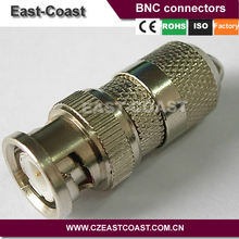 Nickel /Silver RG6 bnc male connector