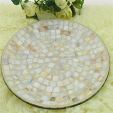 mosaic shell work art crafts inlay glassware