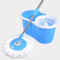 cheapest good quality 360 Magic Rotate Spin Mop Bucket 2 Heads As Seen on TV