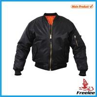 FREE SAMPLE men army ma-1 flight jacket,military ma1 bomber jacket
