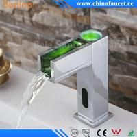 Water Power LED Sensor Faucet for Basin, Touchless Sensor Faucet