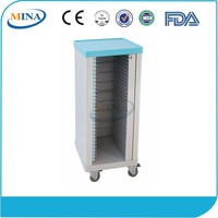 MINA-CHT30 cheap hospital Patient files trolley with 30 layers